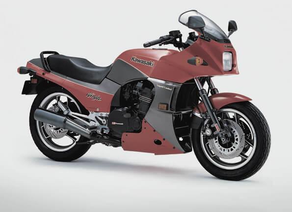 Kawasaki MotoRcycle history