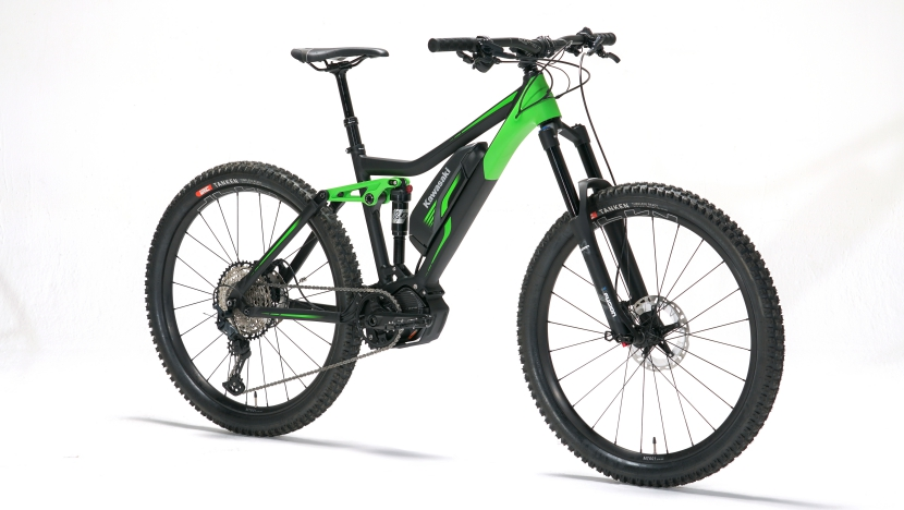 Kawasaki E-MTB : Lime Green