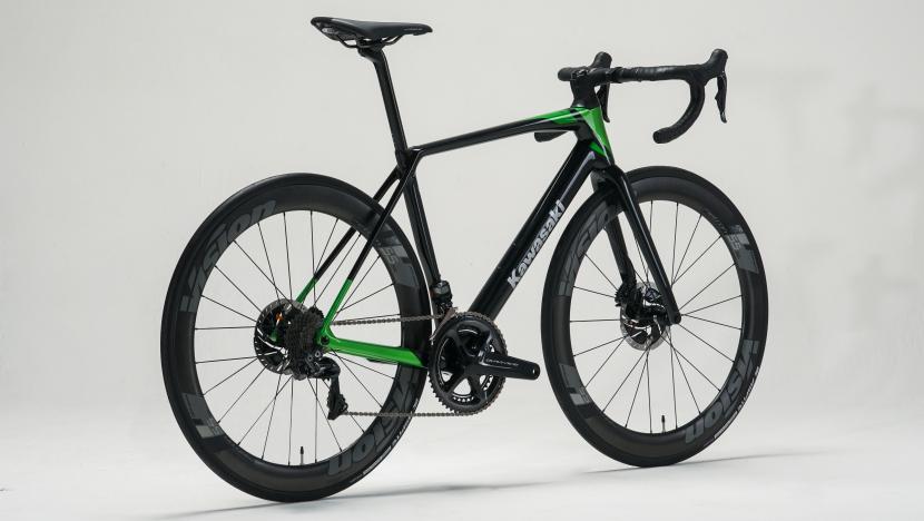 Kawasaki Road Bike : Lime Green
