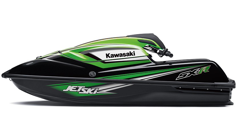 SX-R : Ebony / Lime Green