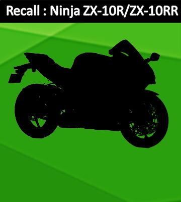 คาวาซากิประกาศเรียกตรวจสอบรถรุ่น Ninja ZX-10R