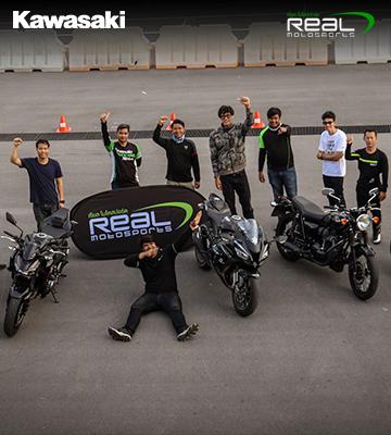 """""""ขับขี่อย่างปลอดภัย ควบคุมอย่างมืออาชีพ"""" กับ Real MotoSports Small Group Riding Course"""