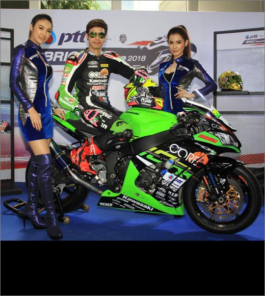 """ฮือฮา!! Kawasaki Team Green ประเทศญี่ปุ่น ดึงตัว """"ติ๊งโน๊ต"""" ดวลศึกออลเจแปนรุ่น JSB1000"""