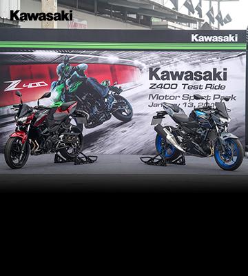 คาวาซากิ จัดกิจกรรมทดสอบขับขี่ Kawasaki Z Test Ride  ณ สนามมอเตอร์สปอร์ต ปาร์ค สุวรรณภูมิ