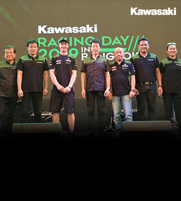 """คาวาซากิจัดใหญ่พาแชมป์โลก 4 สมัย พบแฟนชาวไทย  พร้อมร่วมเชียร์ """"ติ๊งโน๊ต"""" และ """"ซีเค""""  ในการแข่งขัน ARRC 2019 นัดเปิดฤดูกาล"""