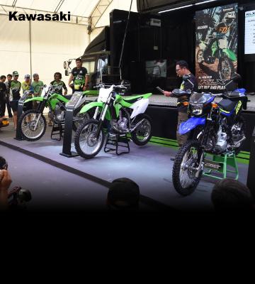 """""""คาวาซากิ"""" เอาใจสายลุย!! เปิดตัวรถวิบากตระกูล KLX พร้อมกัน3รุ่น"""