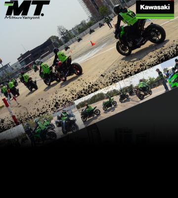 Kawasaki Riding Course By Mittareyanyont