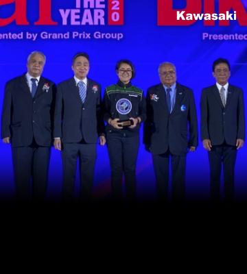 Kawasaki Z650 ใหม่!! คว้ารางวัล Bike of The Year 2020
