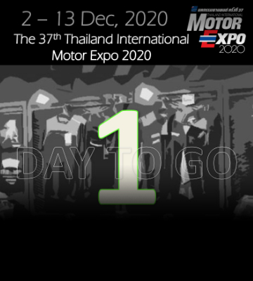 1 Days to go Motor Expo 2020