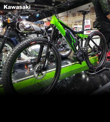 Kawasaki E-MTB พร้อมให้คุณสัมผัสความสนุกได้แล้ววันนี้ที่งาน Moto Expo 2020