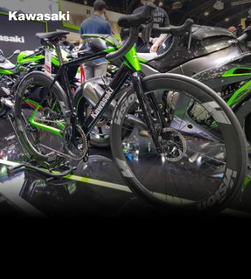 เชิญสัมผัสรถจักรยานทางเรียบระดับพรีเมี่ยม Kawasaki Road Bike ได้ที่งาน Motor Expo 2020
