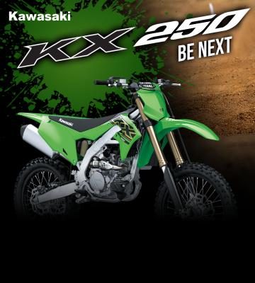 """เพิ่มศักยภาพบนสนามแข่งขันมากยิ่งขึ้น กับ """"BE NEXT"""" KX250"""
