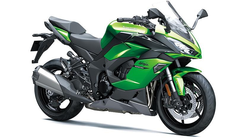 Ninja 1000SX : Emerald Blazed Green / Metallic Carbon Gray / Metallic Graphite Gray