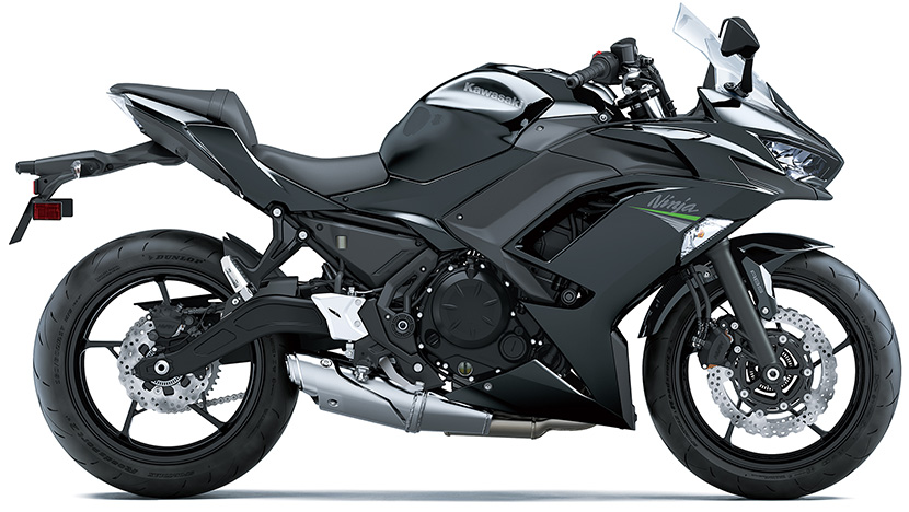 Ninja 650 (2020) : Metallic Spark Black