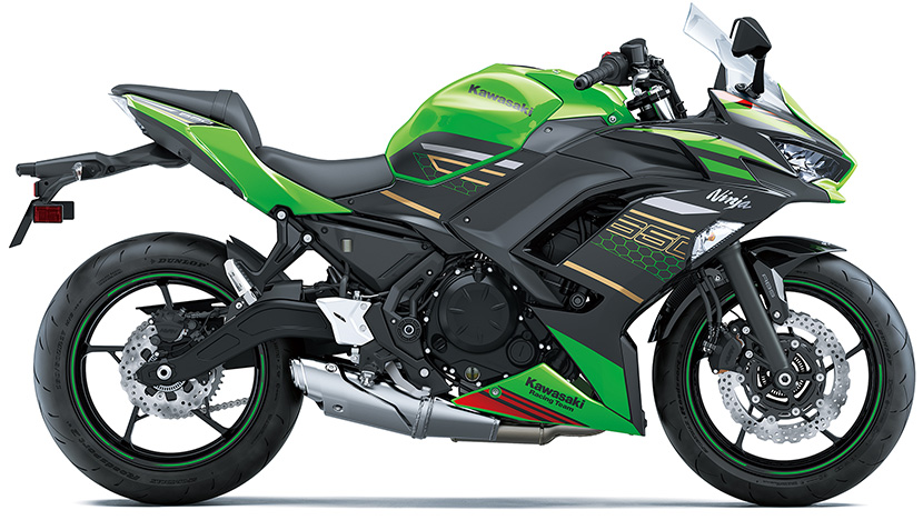 Ninja 650 (2020) : Lime Green / Ebony