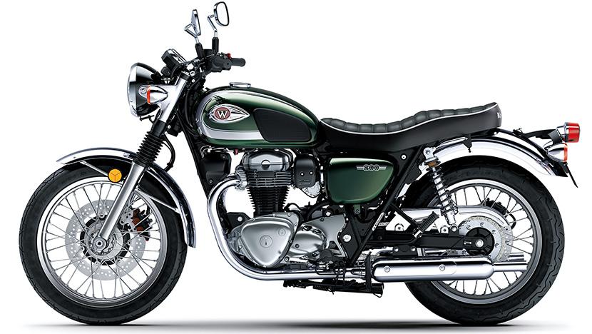 W800 (2020) : Metallic Dark Green