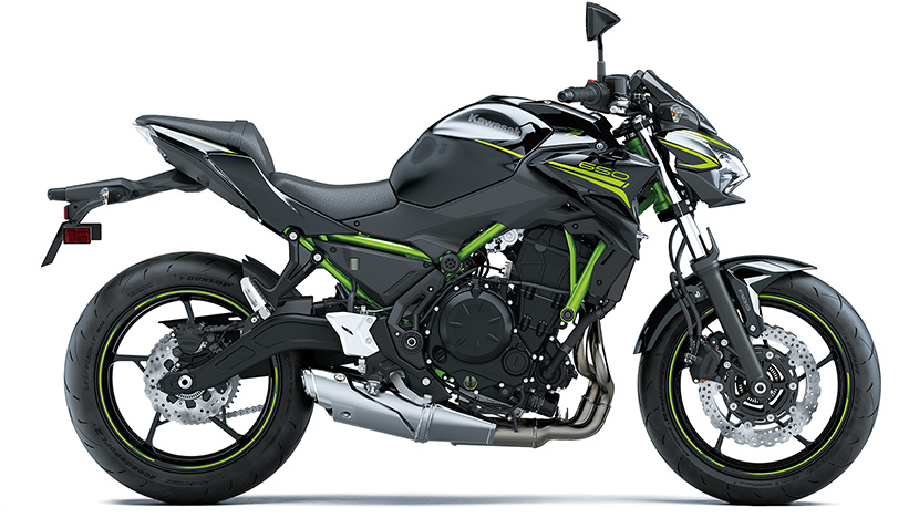 Z650 (2020) : Metallic Spark Black