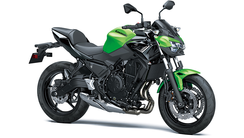 Z650 (2020) : Candy Lime Green / Metallic Spark Black