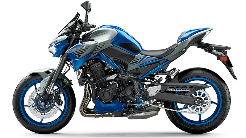 Z900 (2020) : Candy Plasma Blue / Metallic Matte Fusion Silver (SE)