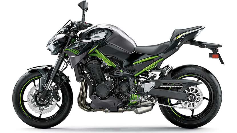 Z900 (2020) : Metallic Graphite Gray / Metallic Spark Black