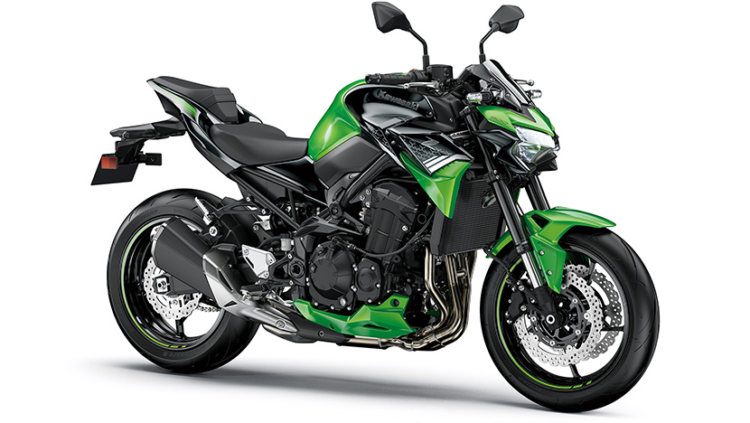 Z900 (2020) : Candy Lime Green / Metallic Spark Black