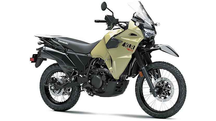 KLR650 : Pearl Sand Khaki (2022)