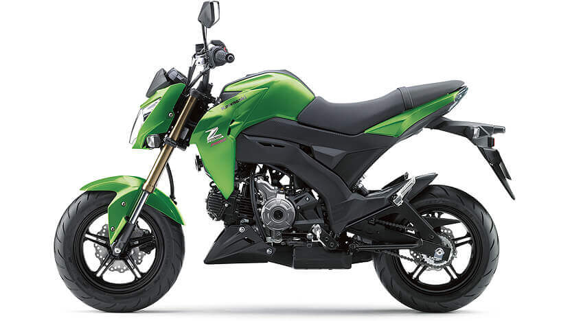Z125 PRO : CANDY FLAT BLAZED GREEN