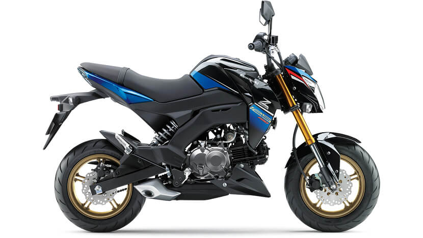Z125 PRO : Candy Plasma Blue / Metallic Spark Black (Special Edition)