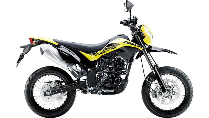 D-TRACKER 150 : Shiny YELLOW