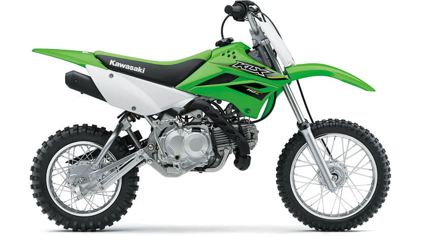 KLX110L : LIME GREEN
