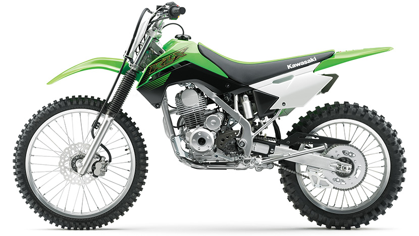 KLX140 : Lime Green