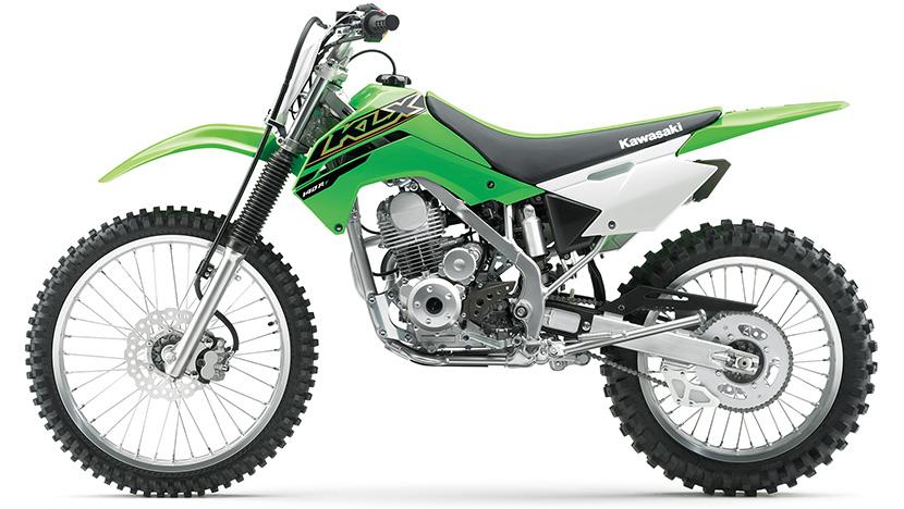 KLX140 : Lime Green