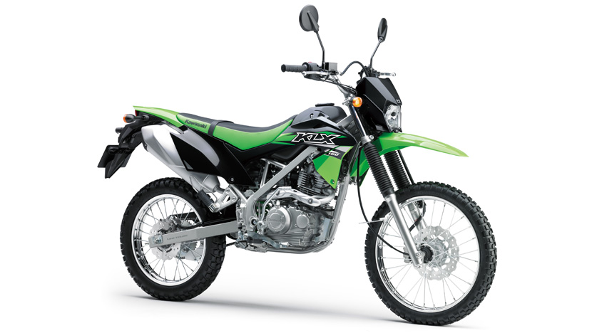 klx150 dual purpose duo with serious off road performance rh kawasaki co th Kawasaki KLX 150 Supermoto Kawasaki KLX 150 Dirt Bike
