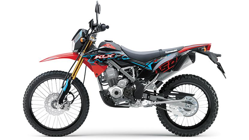 KLX 150BF : Red