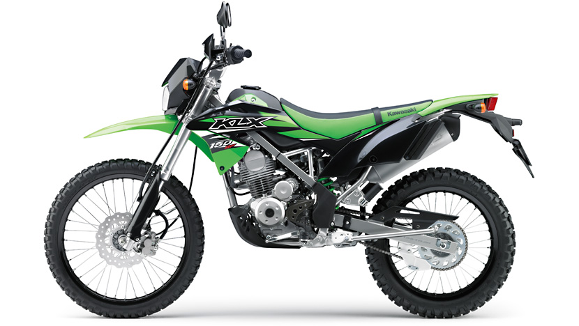 KLX 150BF : Lime Green
