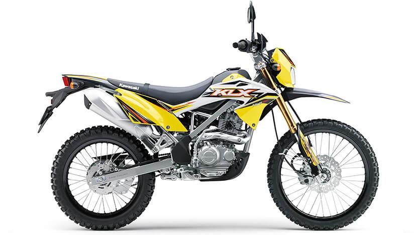KLX 150BF : Yellow