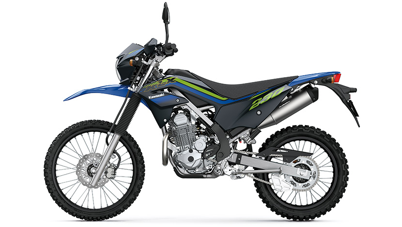 KLX230 / KLX230 (ABS SE) : Oriental Blue (ABS SE)