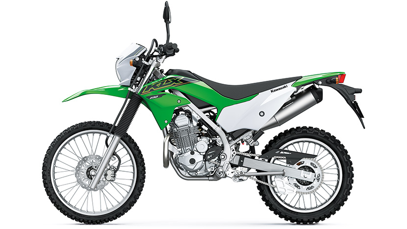 KLX230 / KLX230 (ABS SE) : Lime Green (2021)