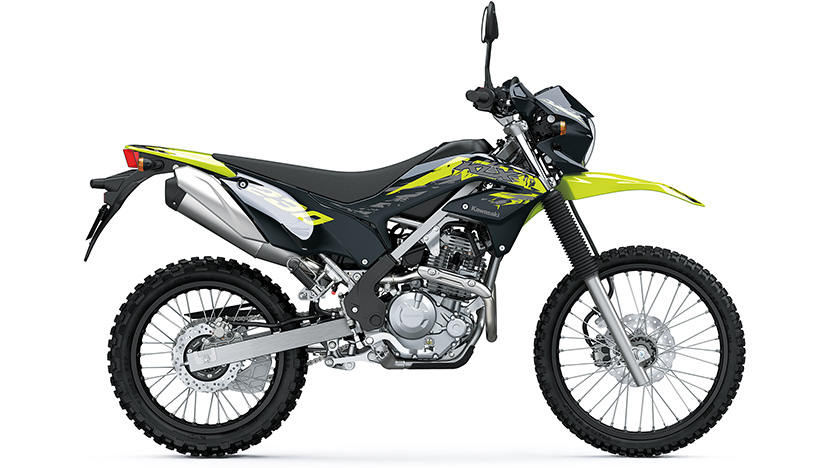 KLX230 / KLX230 (ABS SE) : Ebony / Macaroon Yellow (ABS SE) (2021)
