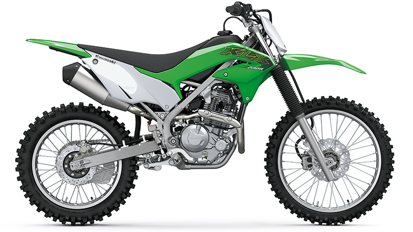 KLX230R : Lime Green