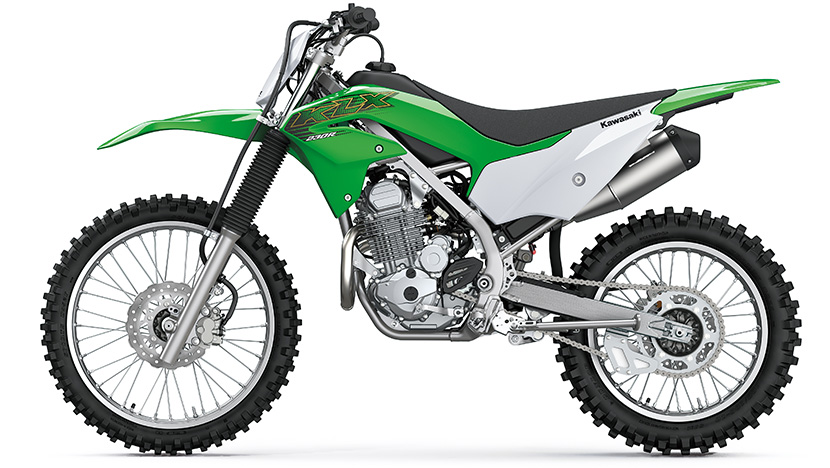 KLX230R : Lime Green