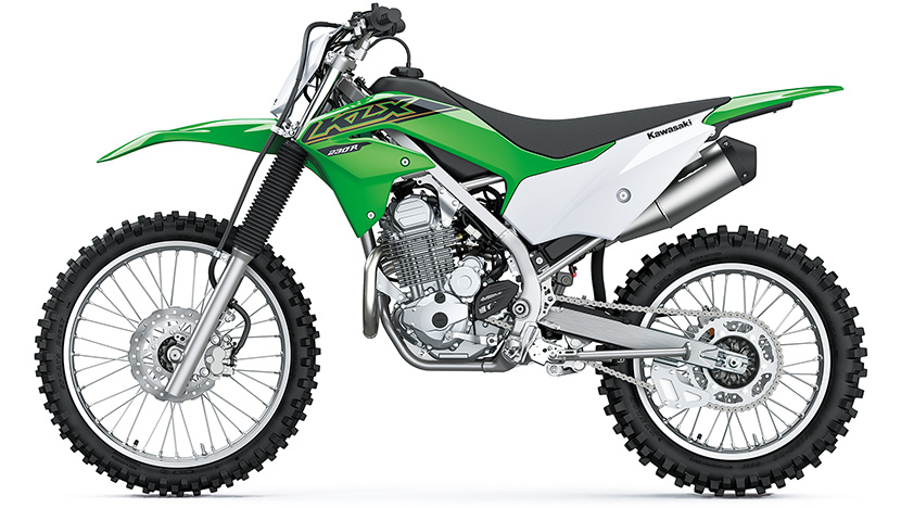 KLX230R : Lime Green (2021)