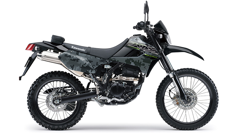 KLX 250 : Matrix Camo Gray