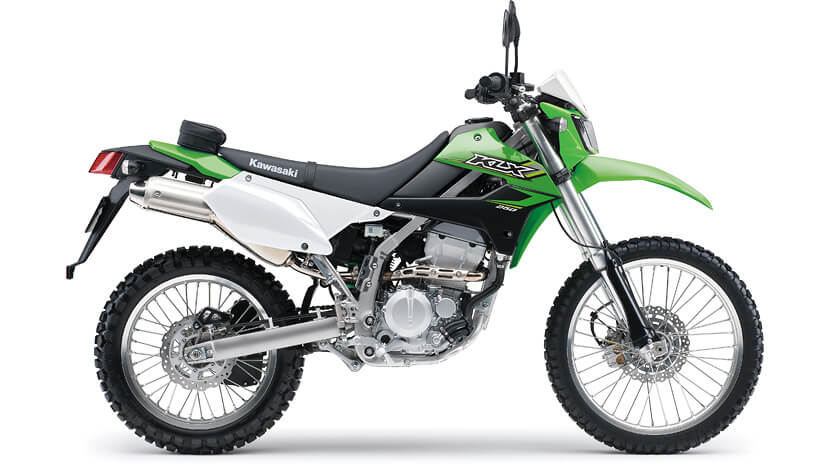 KLX 250 : Lime Green
