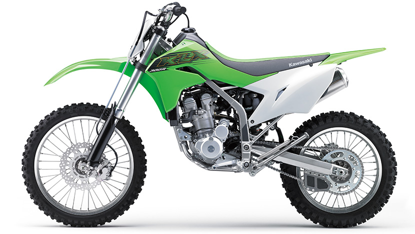 KLX300R : Lime Green