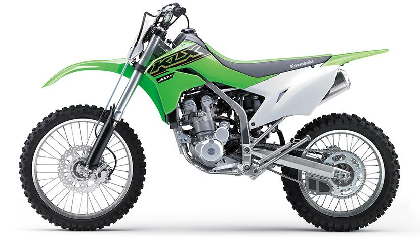 KLX300R : Lime Green