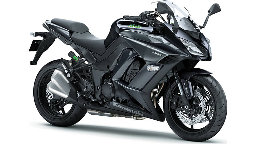 Ninja 1000 : METALLIC CARBON GRAY /METALLIC SPARK BLACK