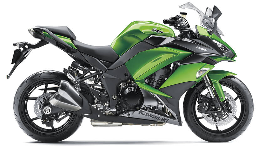 Ninja 1000 New : CANDY LIME GREEN/METALLIC CARBON GRAY