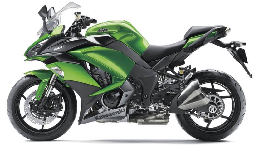 Ninja 1000 New : CANDY LIME GREEN/METALLIC CARBON GRAY