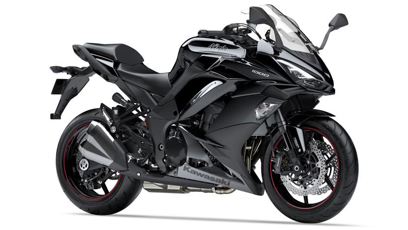 Ninja 1000 New : Metallic Spark Black / Metallic Graphite Gray